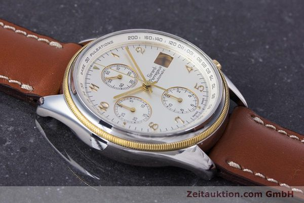 Used luxury watch Girard Perregaux Olimpico chronograph steel / gold automatic Kal. 800-964 Ref. 4900  | 160089 12