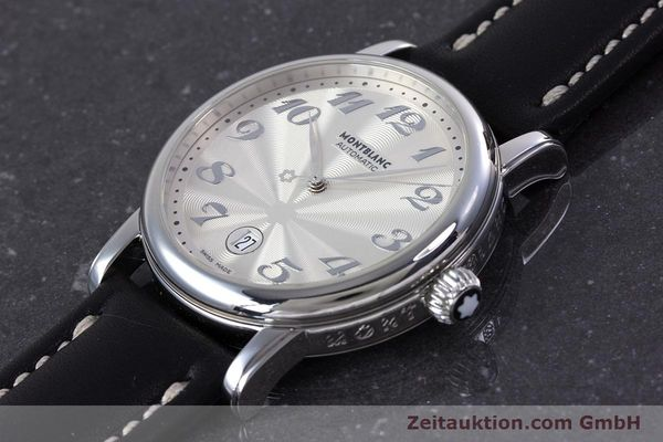 Used luxury watch Montblanc Meisterstück steel automatic Kal. 4810401 ETA 2892A2 Ref. 7068  | 160090 01