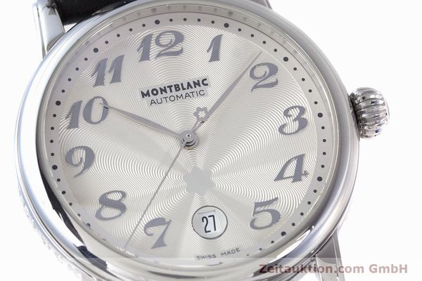 Used luxury watch Montblanc Meisterstück steel automatic Kal. 4810401 ETA 2892A2 Ref. 7068  | 160090 02