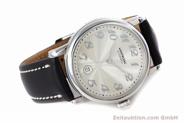 Used luxury watch Montblanc Meisterstück steel automatic Kal. 4810401 ETA 2892A2 Ref. 7068  | 160090 03