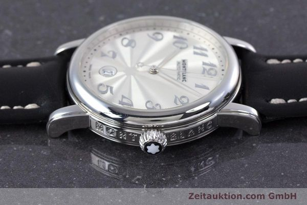 7068 | Used luxury watch Montblanc Meisterstück steel automatic Kal.  4810401 ETA 2892A2 Ref. 7068 ...