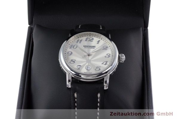 Used luxury watch Montblanc Meisterstück steel automatic Kal. 4810401 ETA 2892A2 Ref. 7068  | 160090 07