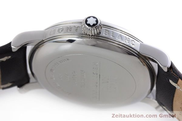 Used luxury watch Montblanc Meisterstück steel automatic Kal. 4810401 ETA 2892A2 Ref. 7068  | 160090 08