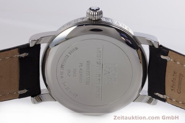 Used luxury watch Montblanc Meisterstück steel automatic Kal. 4810401 ETA 2892A2 Ref. 7068  | 160090 09