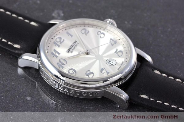 Used luxury watch Montblanc Meisterstück steel automatic Kal. 4810401 ETA 2892A2 Ref. 7068  | 160090 13