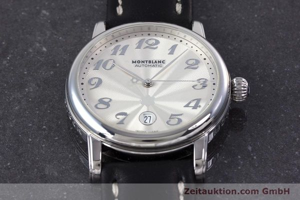 Used luxury watch Montblanc Meisterstück steel automatic Kal. 4810401 ETA 2892A2 Ref. 7068  | 160090 14