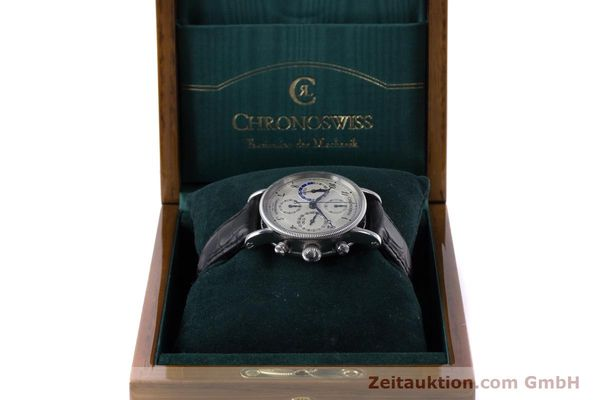 Used luxury watch Chronoswiss Tora chronograph steel automatic Kal. 743 Ref. CH7423  | 160100 07
