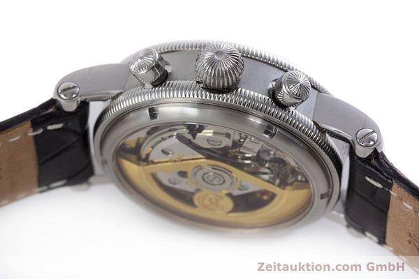 Used luxury watch Chronoswiss Tora chronograph steel automatic Kal. 743 Ref. CH7423  | 160100 12