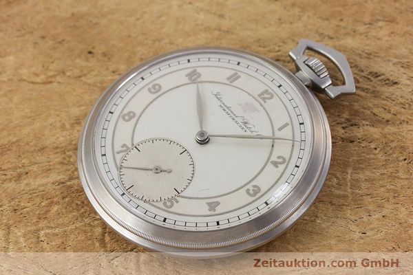 Used luxury watch IWC Pocket Watch steel manual winding Kal. 67 VINTAGE  | 160102 01