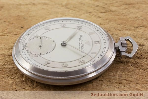 Used luxury watch IWC Pocket Watch steel manual winding Kal. 67 VINTAGE  | 160102 03