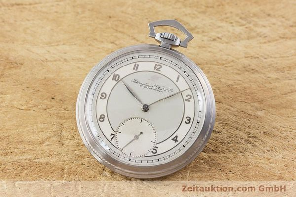 Used luxury watch IWC Pocket Watch steel manual winding Kal. 67 VINTAGE  | 160102 04