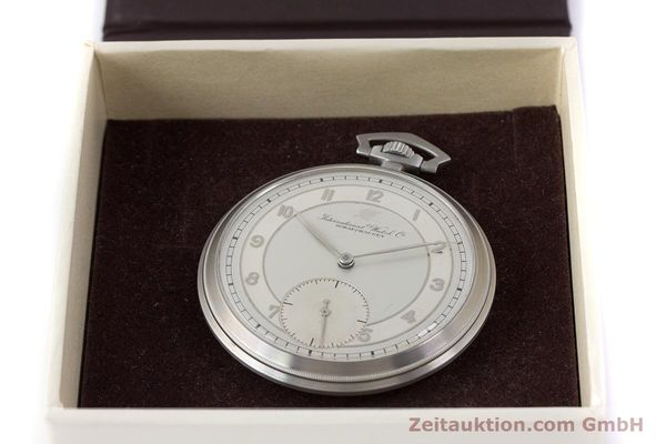 Used luxury watch IWC Pocket Watch steel manual winding Kal. 67 VINTAGE  | 160102 07
