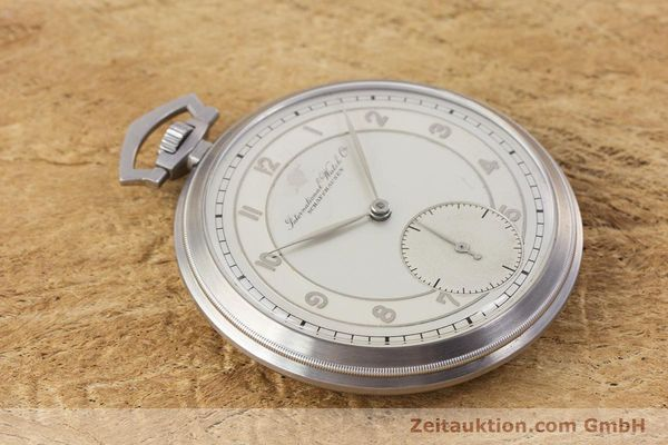 Used luxury watch IWC Pocket Watch steel manual winding Kal. 67 VINTAGE  | 160102 13