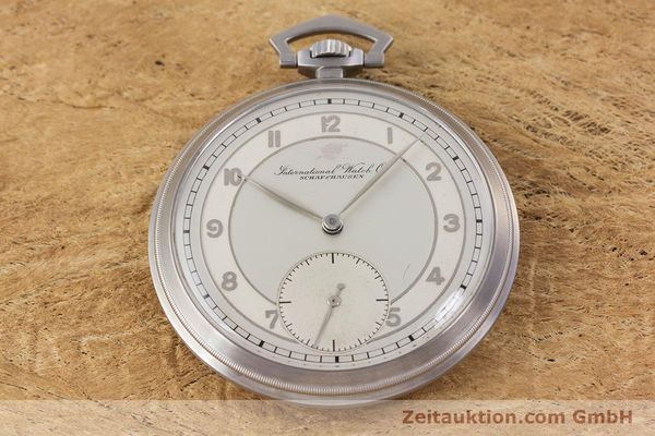 Used luxury watch IWC Pocket Watch steel manual winding Kal. 67 VINTAGE  | 160102 14