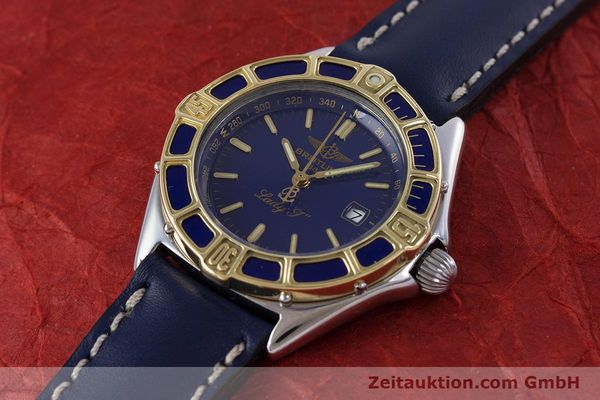 Used luxury watch Breitling Lady J steel / gold quartz Kal. B52 ETA 956112 Ref. D52065  | 160114 01