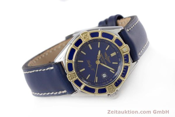 Used luxury watch Breitling Lady J steel / gold quartz Kal. B52 ETA 956112 Ref. D52065  | 160114 03