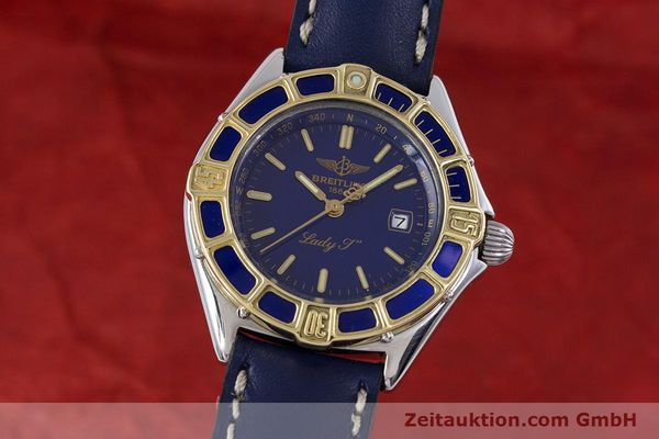 Used luxury watch Breitling Lady J steel / gold quartz Kal. B52 ETA 956112 Ref. D52065  | 160114 04