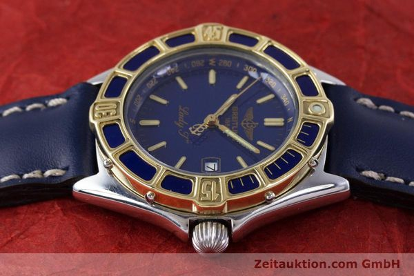 Used luxury watch Breitling Lady J steel / gold quartz Kal. B52 ETA 956112 Ref. D52065  | 160114 05