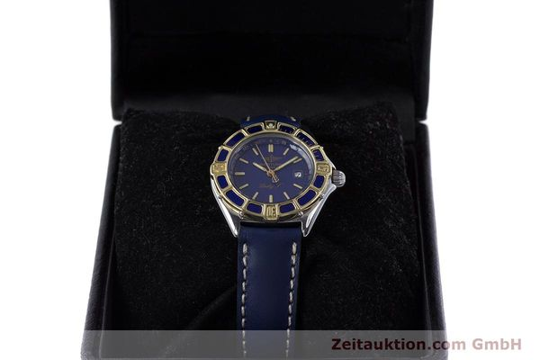 Used luxury watch Breitling Lady J steel / gold quartz Kal. B52 ETA 956112 Ref. D52065  | 160114 07