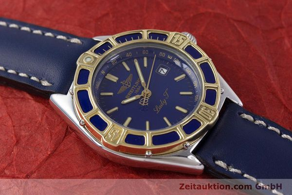 Used luxury watch Breitling Lady J steel / gold quartz Kal. B52 ETA 956112 Ref. D52065  | 160114 14