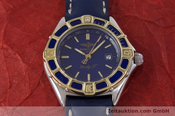 Used luxury watch Breitling Lady J steel / gold quartz Kal. B52 ETA 956112 Ref. D52065  | 160114 15