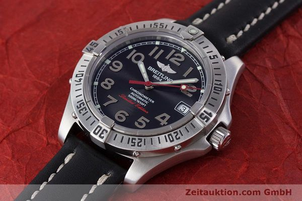 Used luxury watch Breitling Colt steel automatic Kal. B17 ETA 2824-2 Ref. A17350 LIMITED EDITION | 160119 01