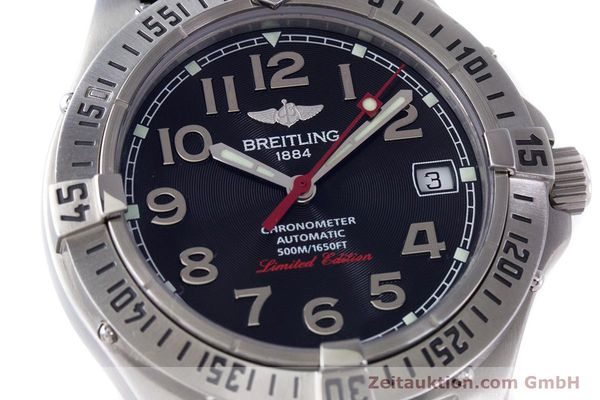 Used luxury watch Breitling Colt steel automatic Kal. B17 ETA 2824-2 Ref. A17350 LIMITED EDITION | 160119 02
