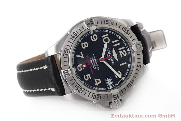 Used luxury watch Breitling Colt steel automatic Kal. B17 ETA 2824-2 Ref. A17350 LIMITED EDITION | 160119 03
