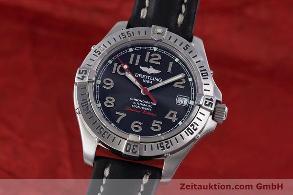 Used luxury watch Breitling Colt steel automatic Kal. B17 ETA 2824-2 Ref. A17350 LIMITED EDITION | 160119 04