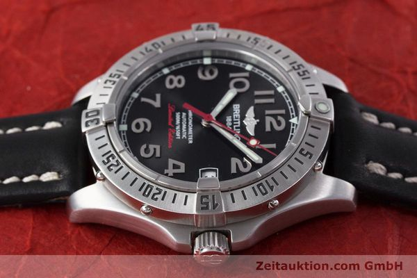 Used luxury watch Breitling Colt steel automatic Kal. B17 ETA 2824-2 Ref. A17350 LIMITED EDITION | 160119 05