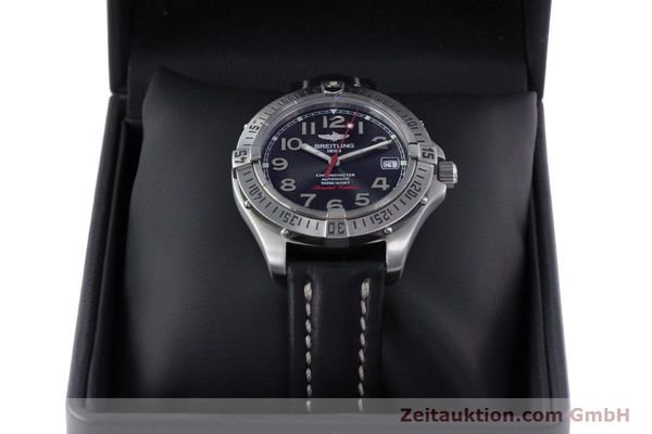 Used luxury watch Breitling Colt steel automatic Kal. B17 ETA 2824-2 Ref. A17350 LIMITED EDITION | 160119 07