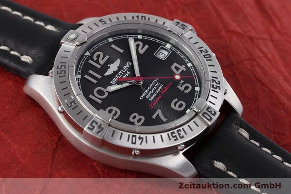 Used luxury watch Breitling Colt steel automatic Kal. B17 ETA 2824-2 Ref. A17350 LIMITED EDITION | 160119 14