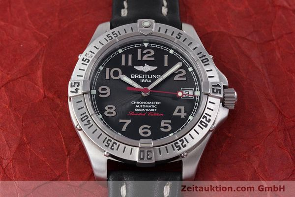 Used luxury watch Breitling Colt steel automatic Kal. B17 ETA 2824-2 Ref. A17350 LIMITED EDITION | 160119 15