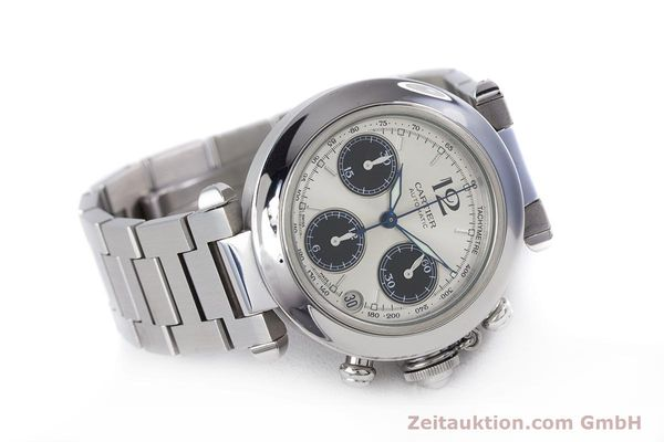 Used luxury watch Cartier Pasha chronograph steel automatic Kal. 047 Ref. 2412  | 160133 03