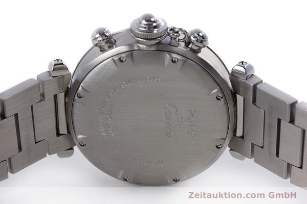 Used luxury watch Cartier Pasha chronograph steel automatic Kal. 047 Ref. 2412  | 160133 09