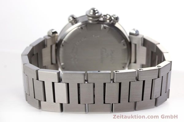Used luxury watch Cartier Pasha chronograph steel automatic Kal. 047 Ref. 2412  | 160133 11