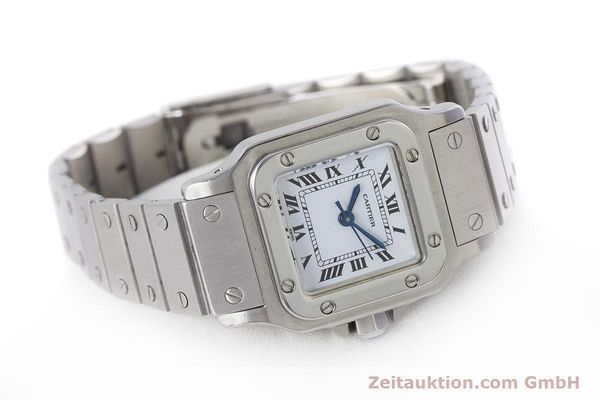 Used luxury watch Cartier Santos steel automatic Kal. ETA 2670  | 160136 03