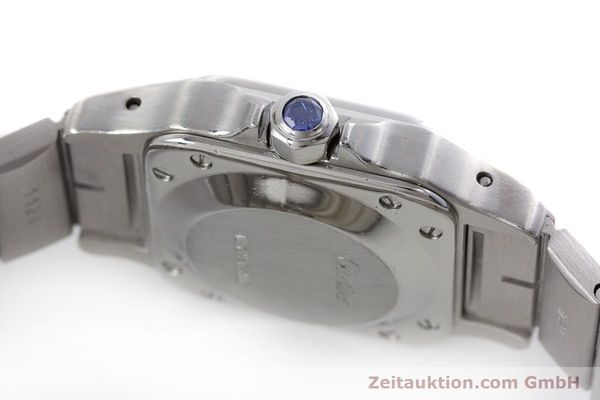 Used luxury watch Cartier Santos steel automatic Kal. ETA 2670  | 160136 08