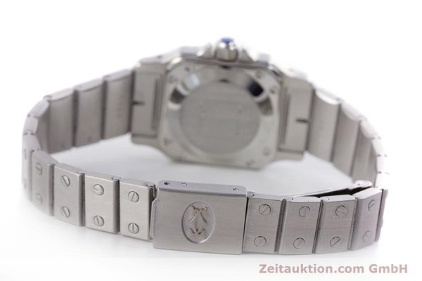 Used luxury watch Cartier Santos steel automatic Kal. ETA 2670  | 160136 10
