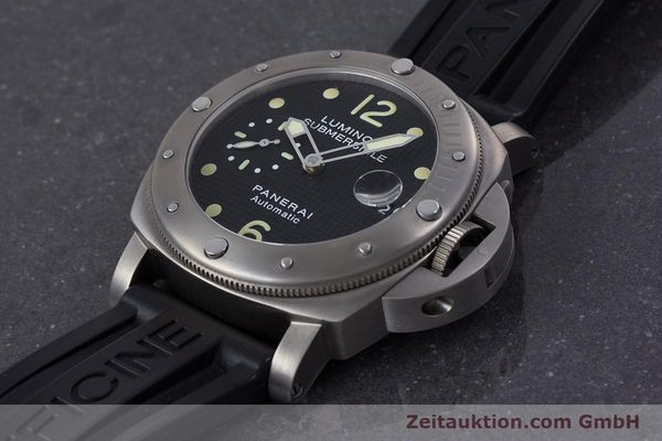 Used luxury watch Panerai Luminor Submersible titanium automatic Kal. ETA A05511 Ref. OP6562, PAM00025  | 160140 01