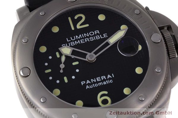 Used luxury watch Panerai Luminor Submersible titanium automatic Kal. ETA A05511 Ref. OP6562, PAM00025  | 160140 02