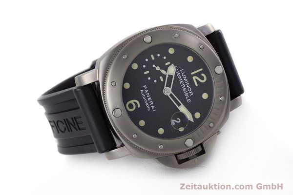 Used luxury watch Panerai Luminor Submersible titanium automatic Kal. ETA A05511 Ref. OP6562, PAM00025  | 160140 03