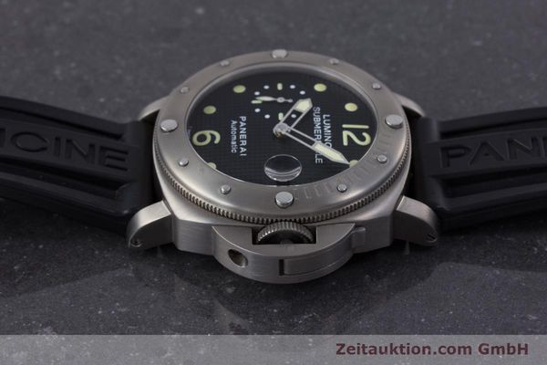 Used luxury watch Panerai Luminor Submersible titanium automatic Kal. ETA A05511 Ref. OP6562, PAM00025  | 160140 05