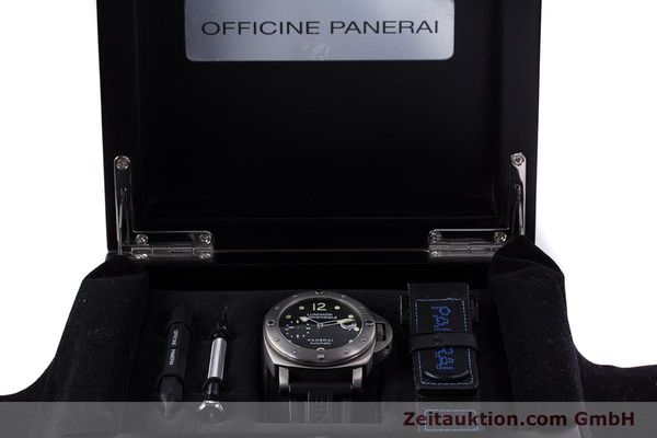 Used luxury watch Panerai Luminor Submersible titanium automatic Kal. ETA A05511 Ref. OP6562, PAM00025  | 160140 07