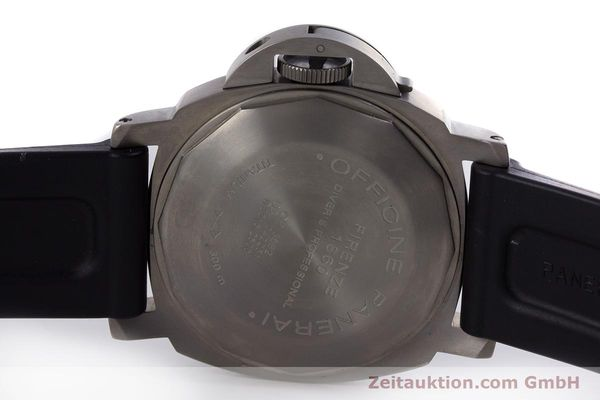 Used luxury watch Panerai Luminor Submersible titanium automatic Kal. ETA A05511 Ref. OP6562, PAM00025  | 160140 09
