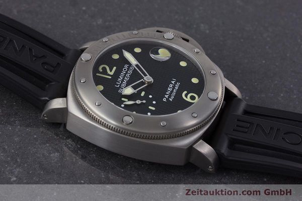 Used luxury watch Panerai Luminor Submersible titanium automatic Kal. ETA A05511 Ref. OP6562, PAM00025  | 160140 14