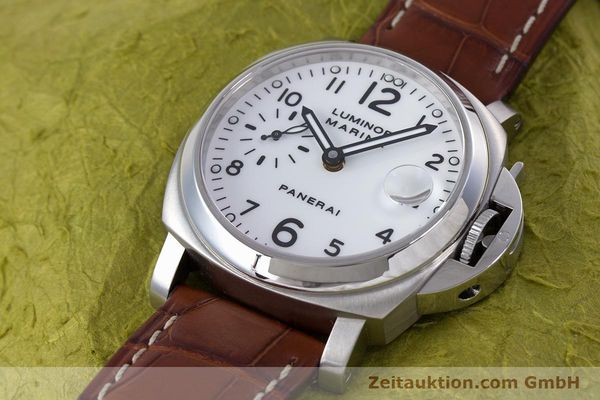 Used luxury watch Panerai Luminor Marina steel automatic Kal. ETA A05511 Ref. OP6625, PAM00049  | 160145 01