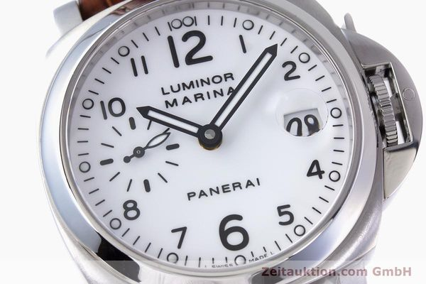 Used luxury watch Panerai Luminor Marina steel automatic Kal. ETA A05511 Ref. OP6625, PAM00049  | 160145 02