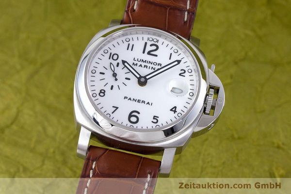 Used luxury watch Panerai Luminor Marina steel automatic Kal. ETA A05511 Ref. OP6625, PAM00049  | 160145 04