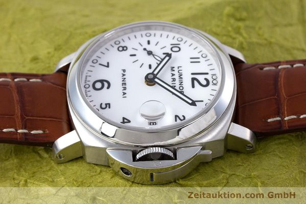 Used luxury watch Panerai Luminor Marina steel automatic Kal. ETA A05511 Ref. OP6625, PAM00049  | 160145 05